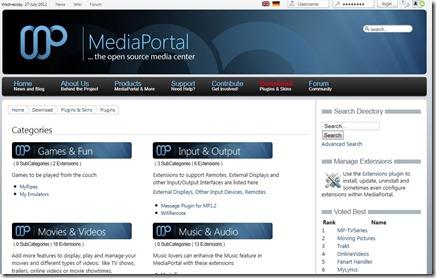 Mediaportal plugins_1