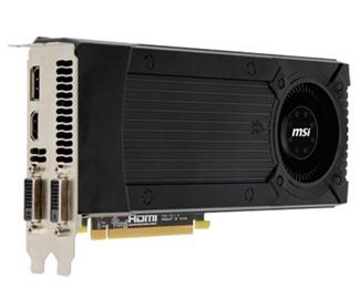 nvidia GTX670 msi