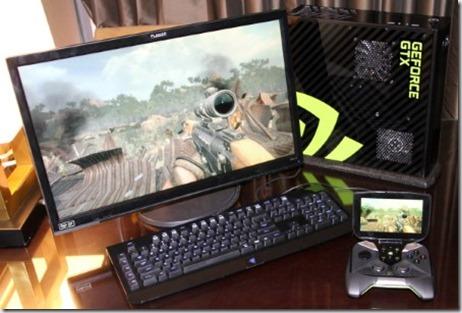 nVidia Shield y PC