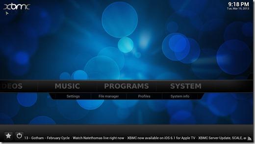 instalar XBMC 11_ira settings