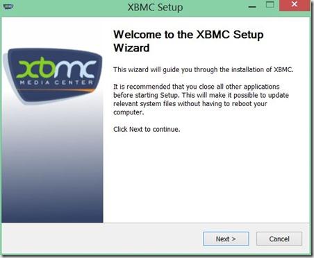 instalar XBMC 1
