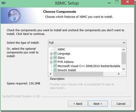 instalar XBMC 3