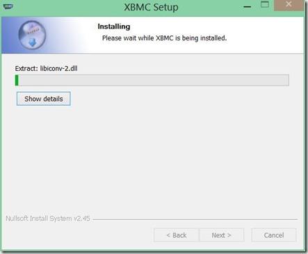 instalar XBMC 7