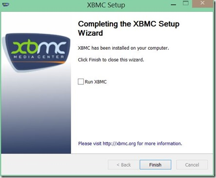 instalar XBMC 8