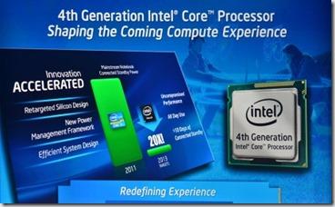 Bug en el chipset para los Haswell, lo nuevo de Intel