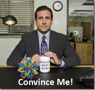 Convencer al jefe