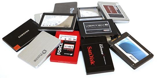 Comparativa SSD