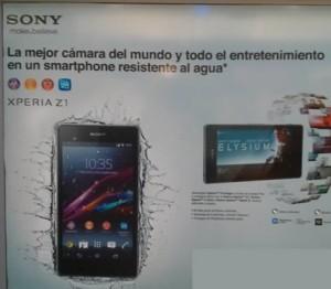 Sony movil mojable