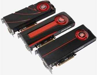 Ati AMD Radeon compartiva cinco generaciones
