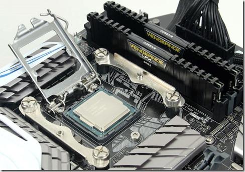 Intel Skylake montado
