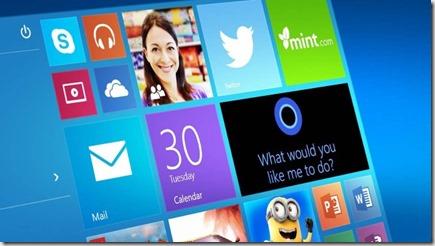 windows 10 menu