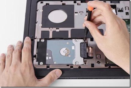 Cambiar disco duro portátil