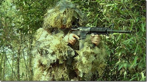 Camuflaje selvatico militar