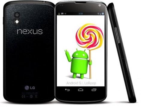 Nexus 4 android 5.1