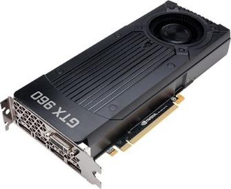 nVidia GTX 960 4 gigas de RAM