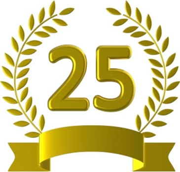 25 años