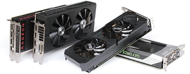Comparativa AMD RX480 vs frente a nVidia GtX 1060