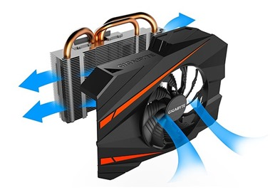Gigabyte GTX1070 Mini-ITX OC Refrigeración