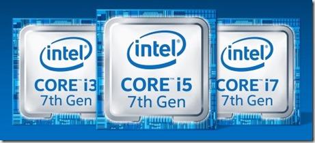 Intel septima generacion core kaby lake