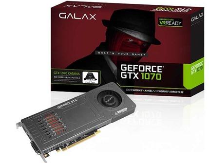 Galax Kayana GTX 1070 solo un slot