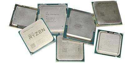 Comparativa de 44 procesadores