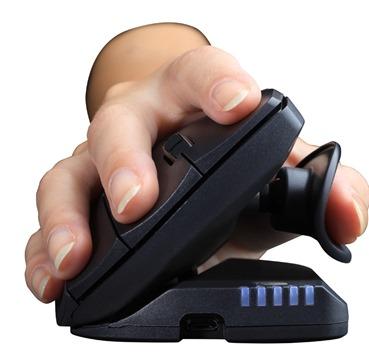 Unimouse ratón con la mano