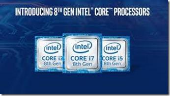 Intel octava generacion