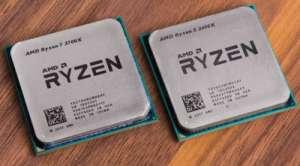 AMD Rizen segunda generacion chips