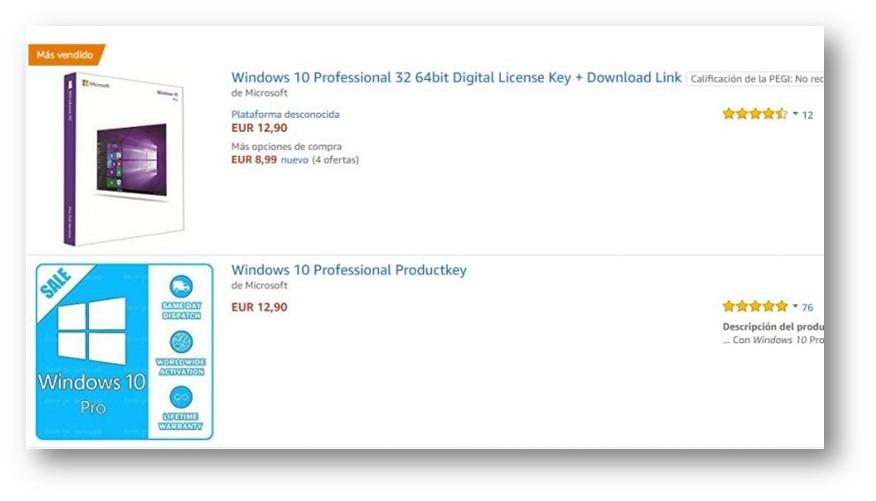 windows 10 64 bit product key ebay